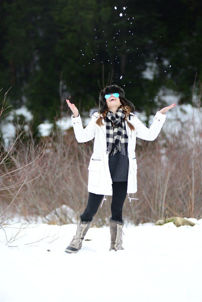 snow ski style